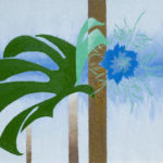 Blue Flower, 2013, oil on canvas, 55×82