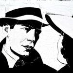 Casablanca 2, 2012, scratchboard, 30×40