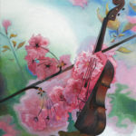 Sakura, 2015, oil on canvas, 83×75