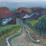 Etude Rebenweg, 2016, oil on canvas, 30×40