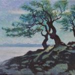 Over the See of Fog, 2016, Öl auf Leinwand, 50×70